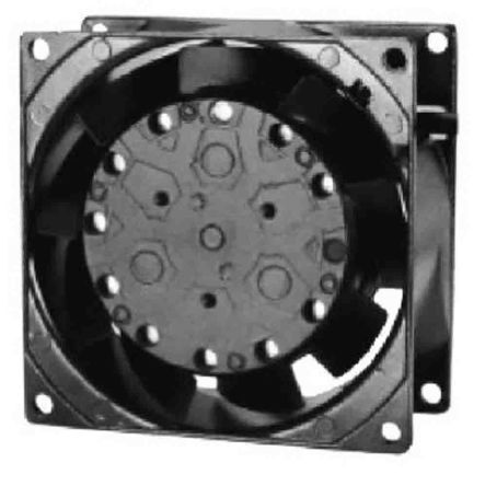 RS PRO , 230 V ac, AC Axial Fan, 80 x 80 x 38mm, 56m³/h, 13W, IP55