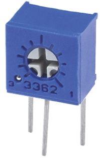 Bourns 5kΩ, Through Hole Trimmer Potentiometer 0.5W Side Adjust , 3362