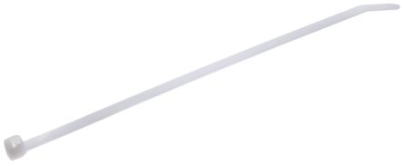 Thomas & Betts , Ty-Fast Series White Nylon Cable Tie, 186mm x 4.6 mm