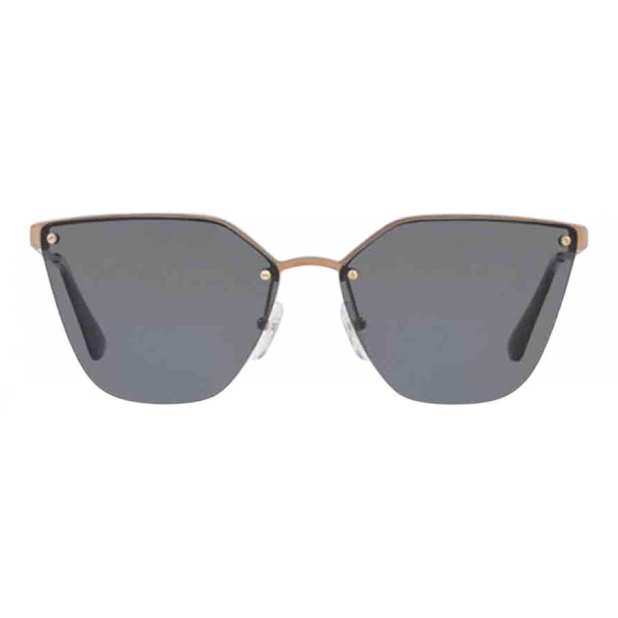 Prada N Gold Metal Sunglasses for Women N