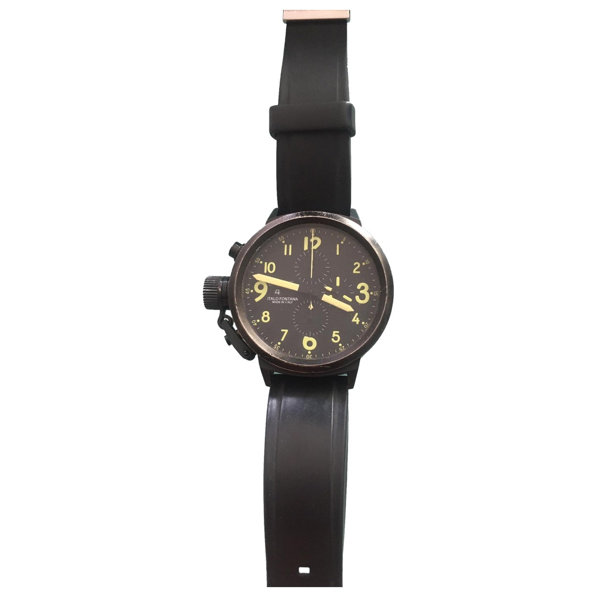 U-boat \N Black Steel watch for Men \N