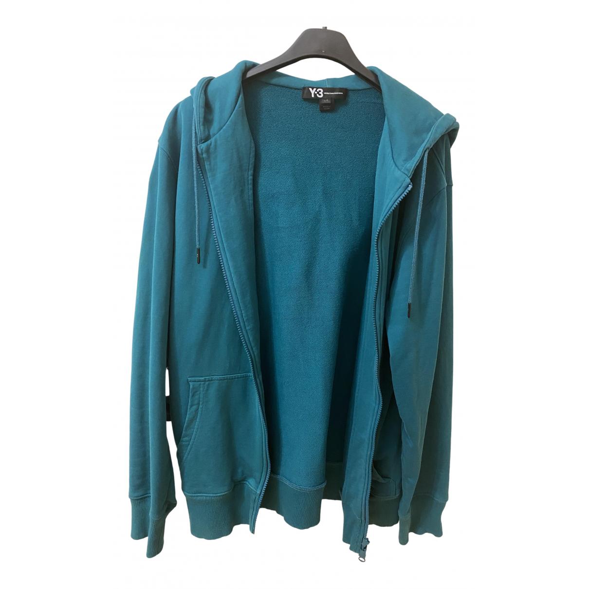 Y-3 N Blue Cotton Knitwear & Sweatshirts for Men L International