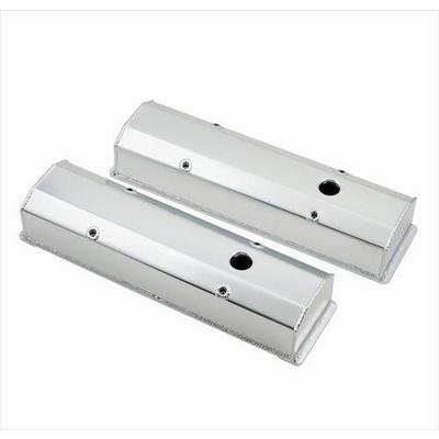 Mr. Gasket Company Aluminum Valve Cover (Natural) - 6820G