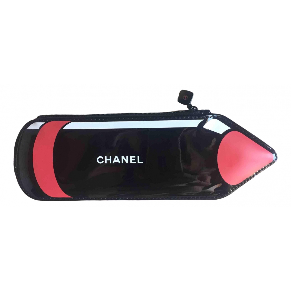 Chanel \N Black Patent leather Travel bag for Women \N