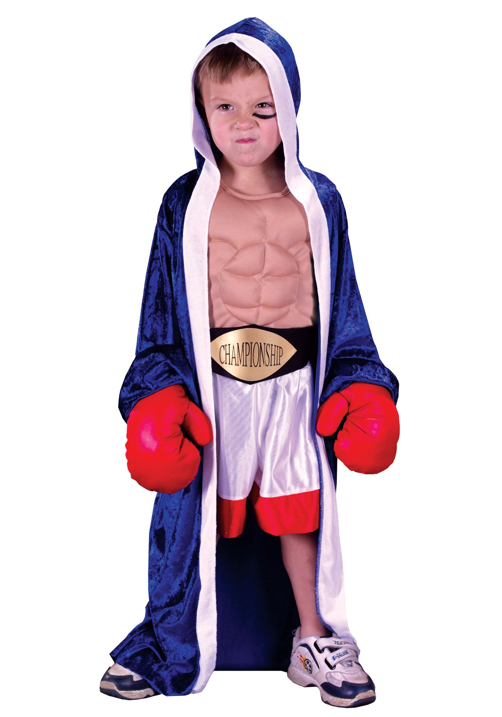 Lil Champ Boxer Costume For Kids