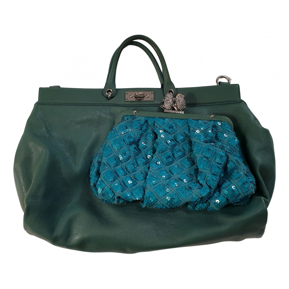 Marc Jacobs N Green Leather handbag for Women N