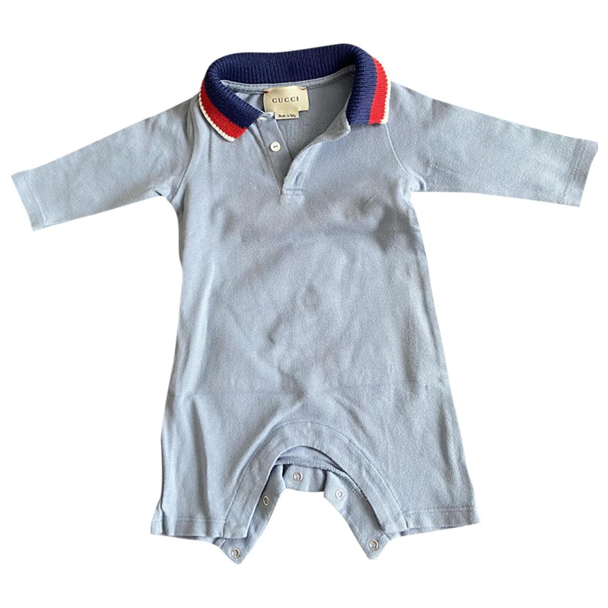 Gucci - Les ensembles   pour enfant en coton - bleu