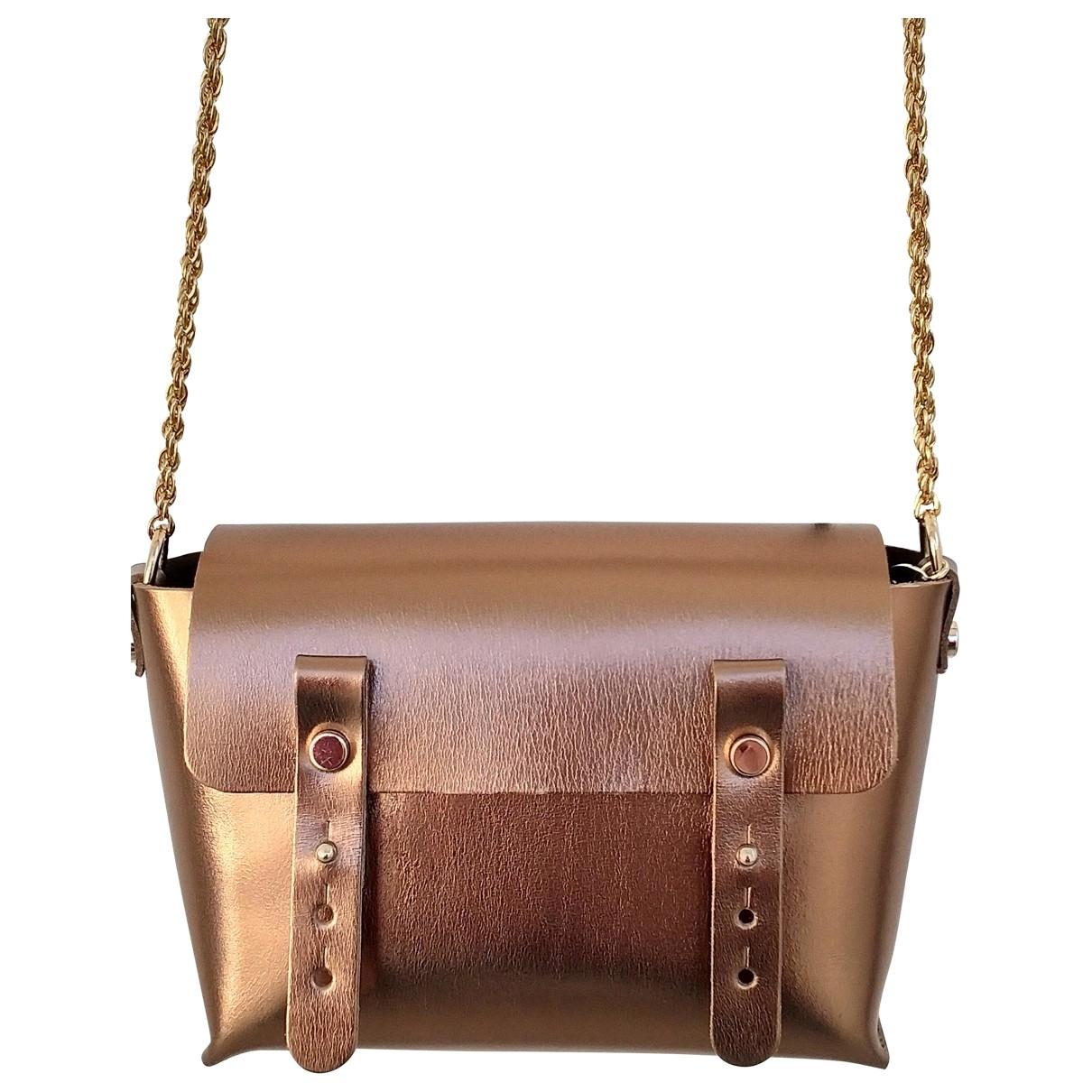 Craie \N Handtasche in  Gold Leder