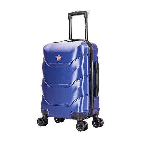 DUKAP Zonix Hardside 20 Inch Carry-on Luggage, One Size , Blue