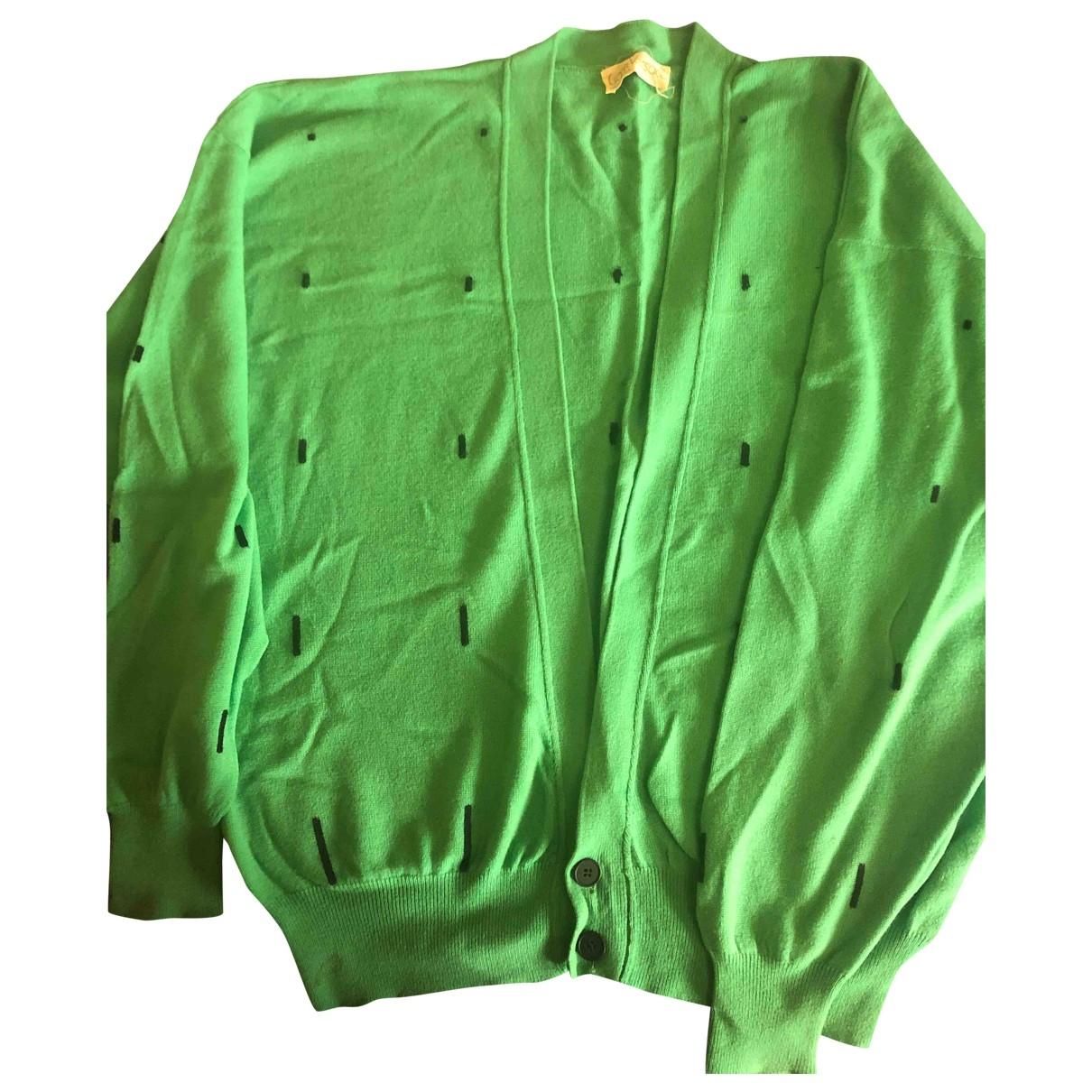 Gianni Versace \N Green Cashmere Knitwear & Sweatshirts for Men 50 IT