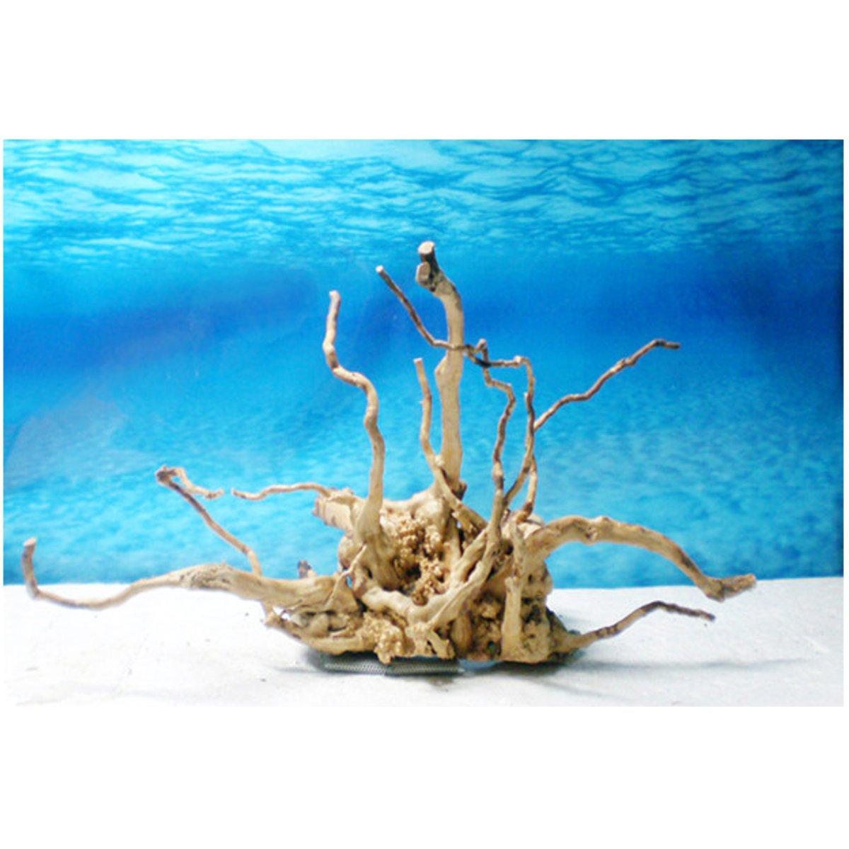 Driftwood Root Natural Aquarium Decoration Tree Trunk Fish Log Stump Cuckoo