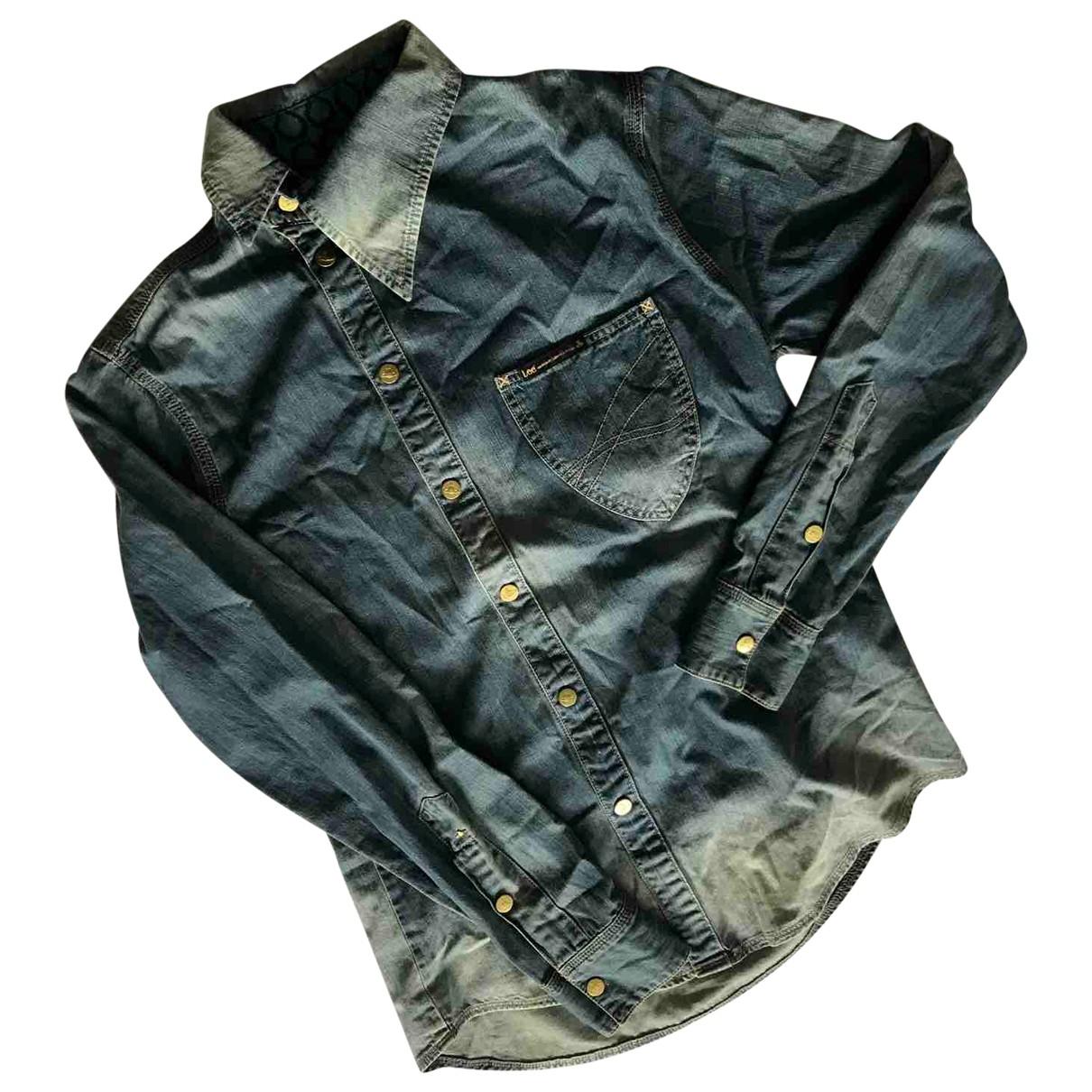 Vivienne Westwood \N Hemden in  Blau Denim - Jeans