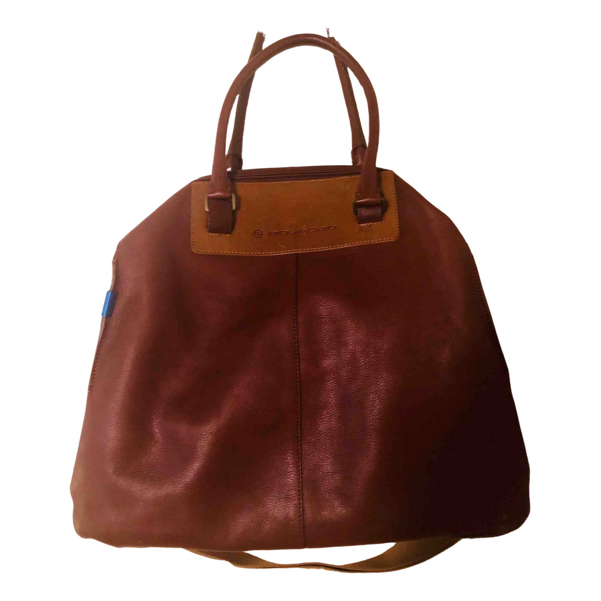 Piquadro - Sac de voyage   pour femme en cuir - marron