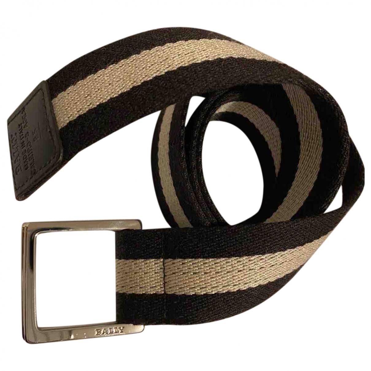 Cinturon de Lona Bally