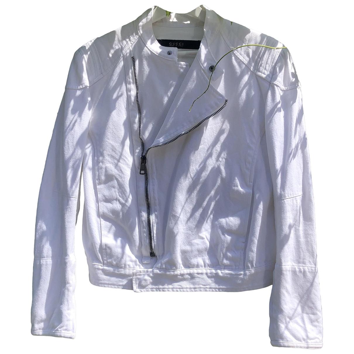 Gucci - Vestes.Blousons   pour homme en denim - blanc