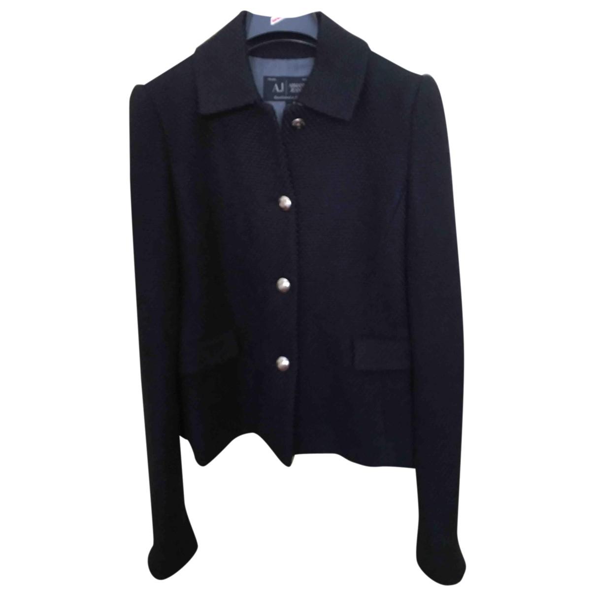 Armani Jean - Veste   pour femme en laine - bleu