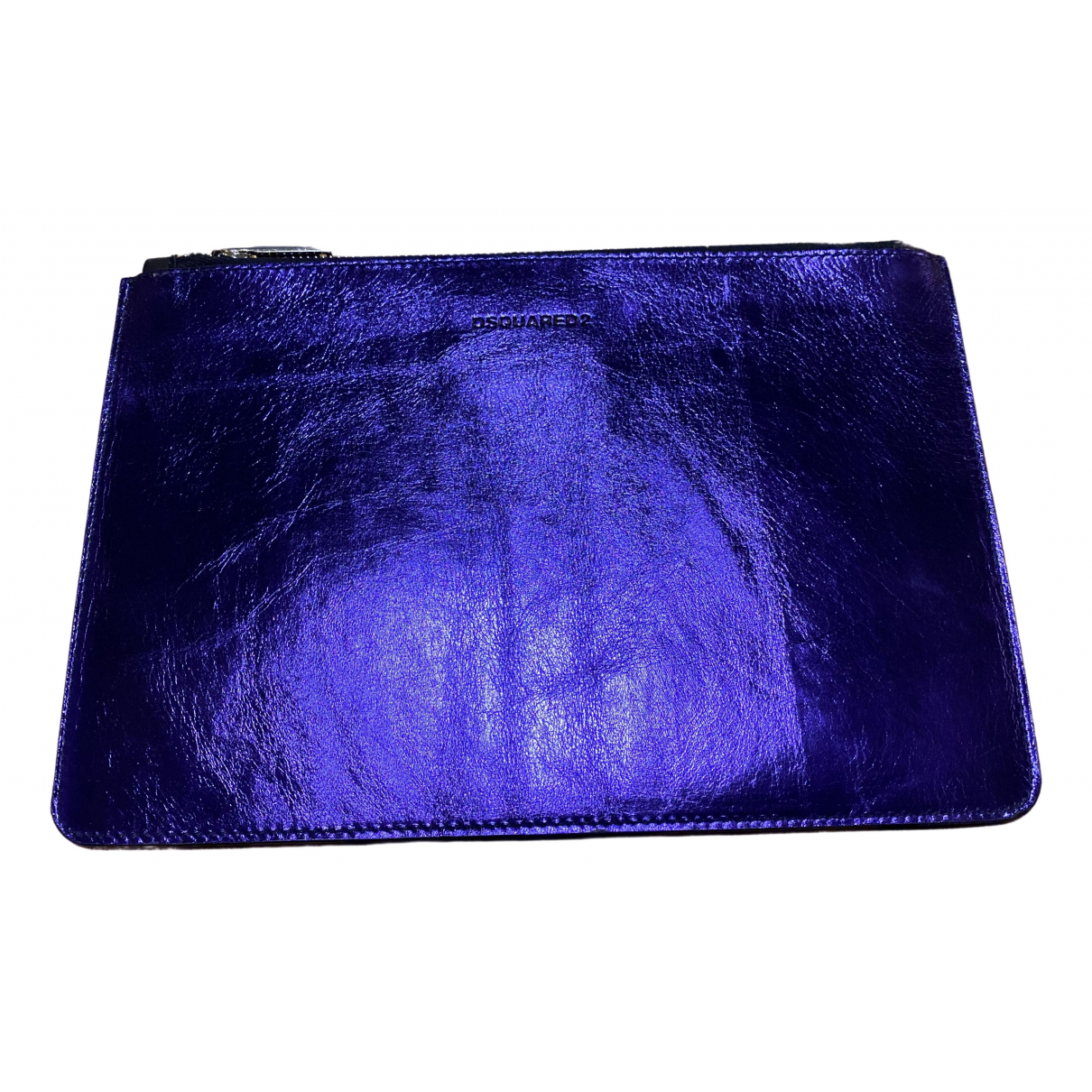 Dsquared2 - Petite maroquinerie   pour homme en cuir - violet