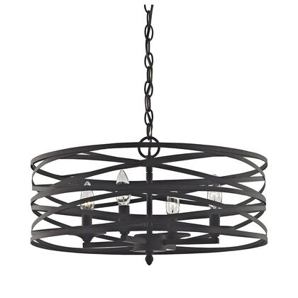 81185/4 Vorticy 4-Light Chandelier in Oil Rubbed