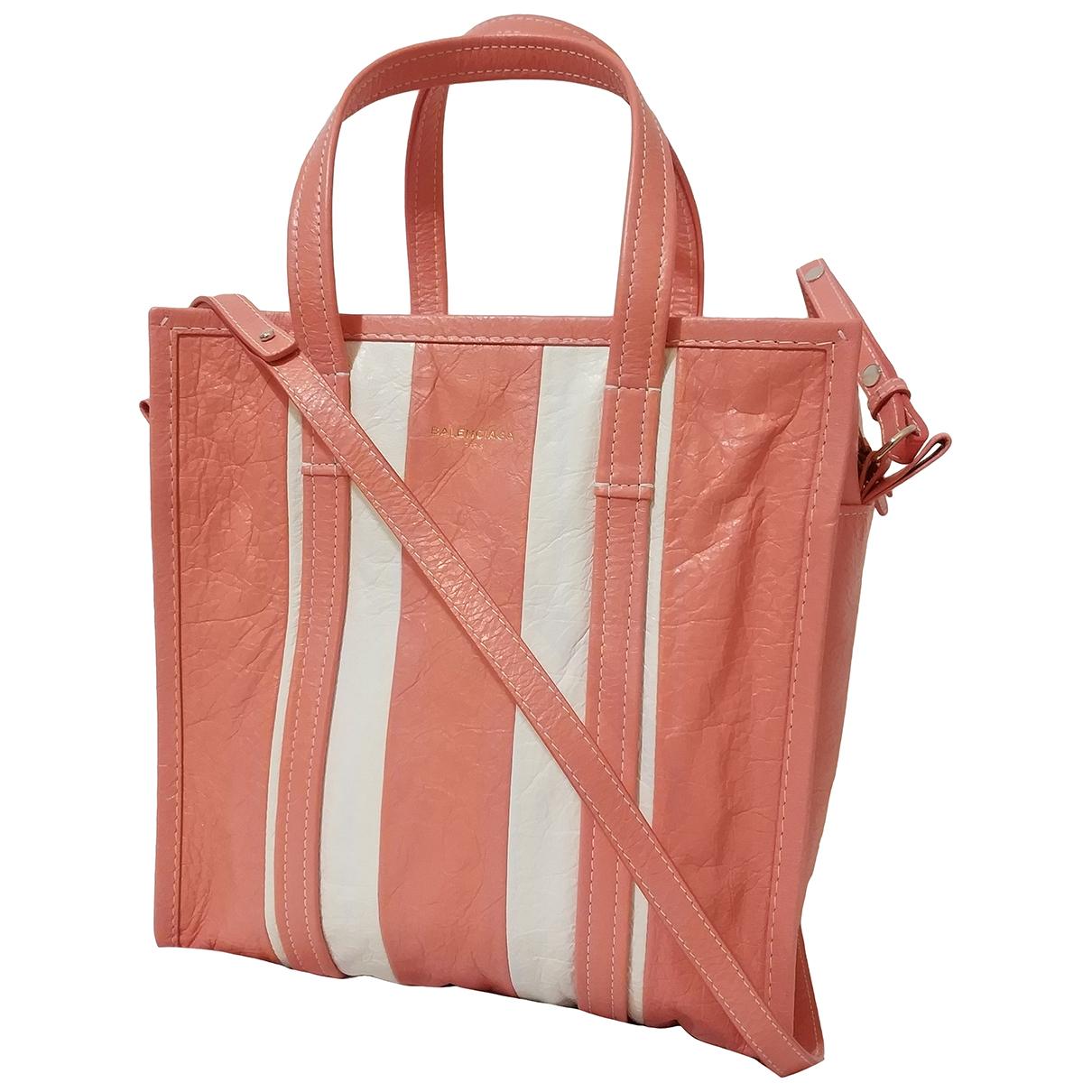 Balenciaga - Sac a main Bazar Bag pour femme en cuir - rouge