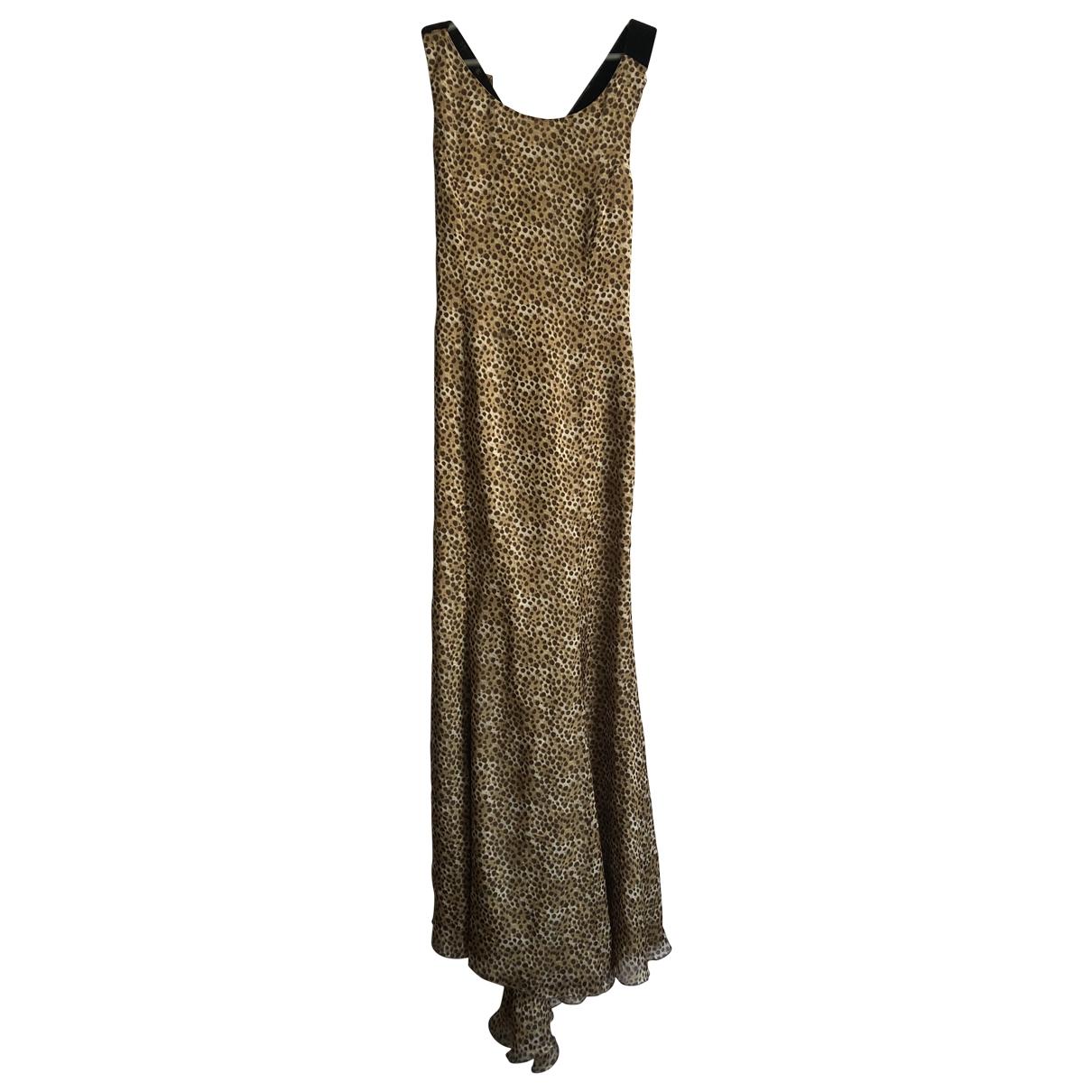 Valentino Garavani - Robe   pour femme en soie - multicolore