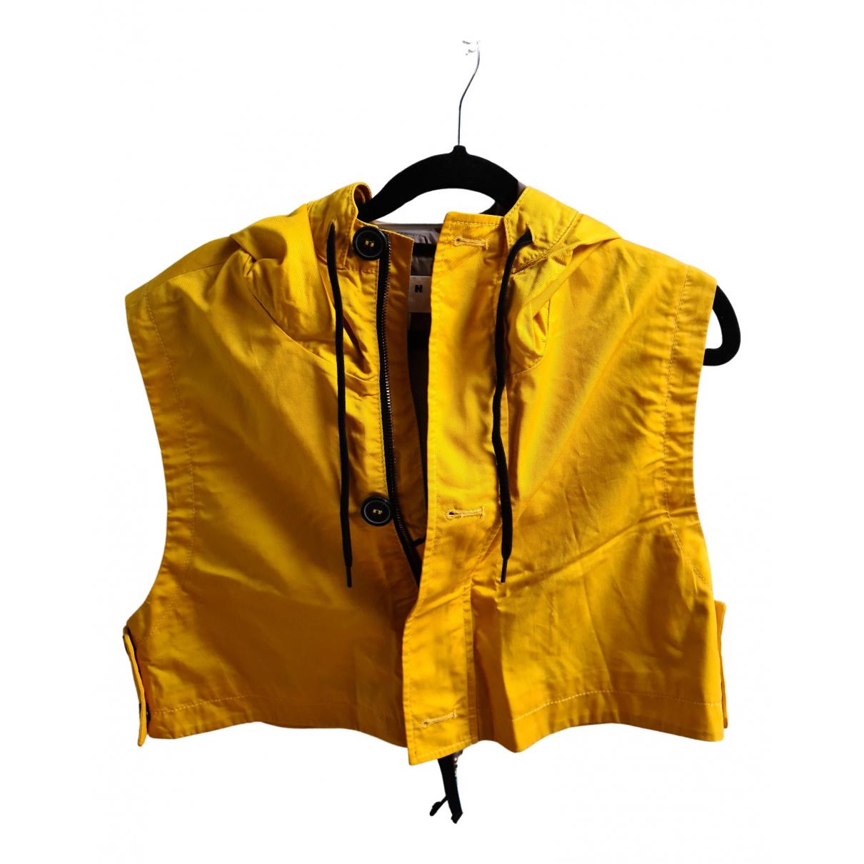 Marni For H&m - Veste   pour femme en coton - jaune