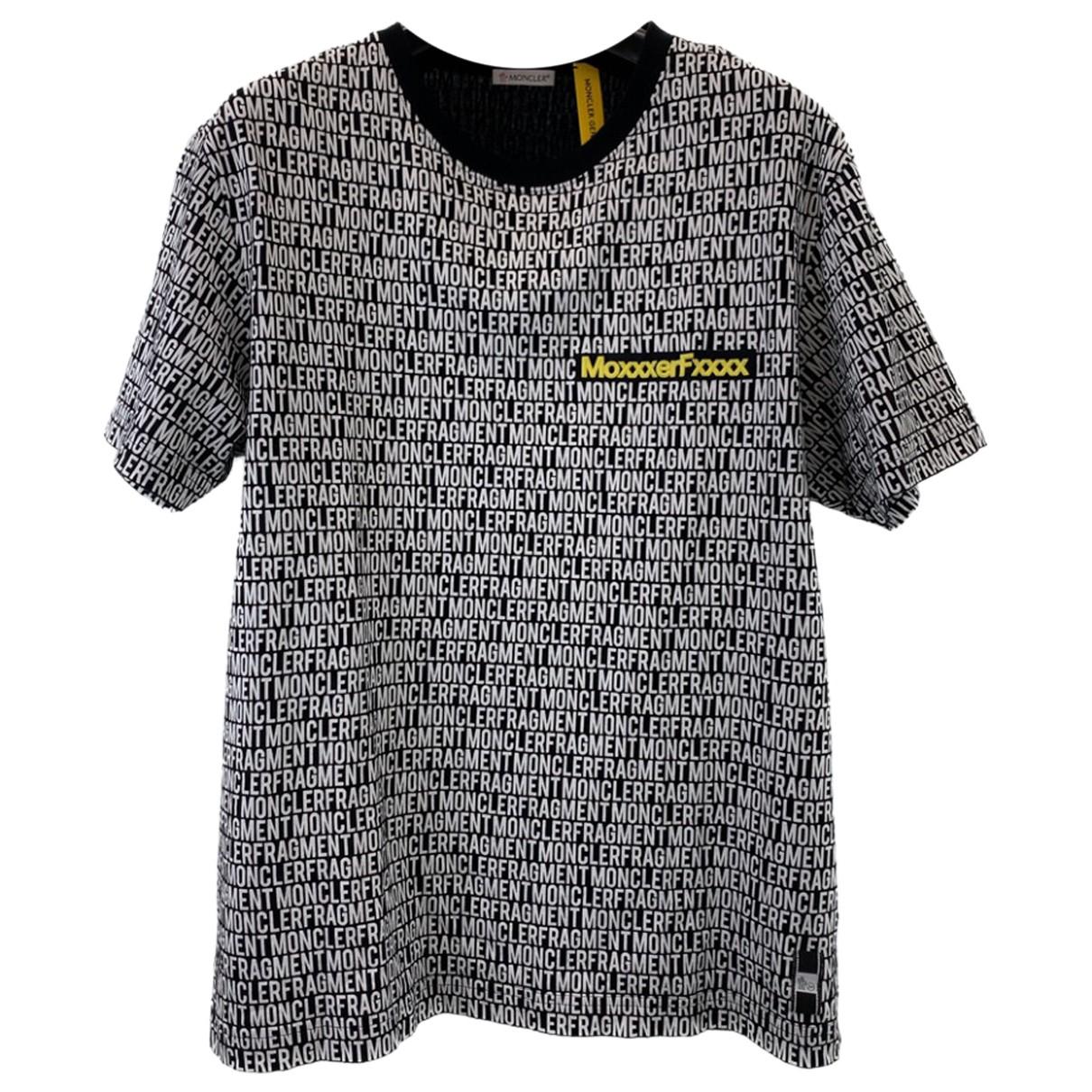 Moncler \N T-Shirts in  Beige Baumwolle