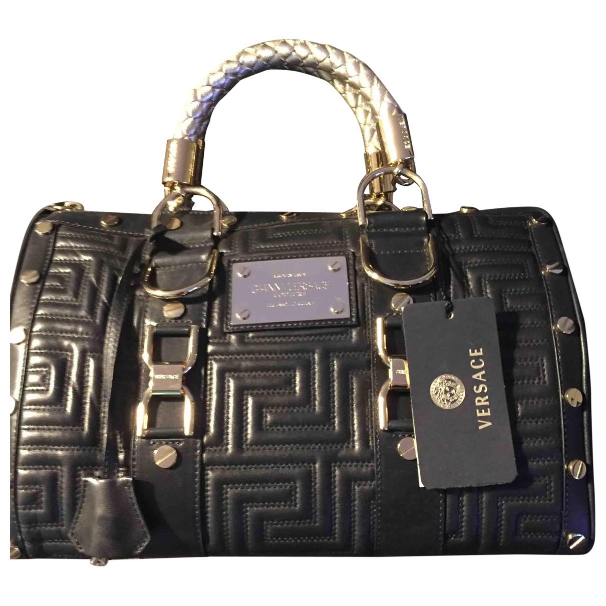Bolso  de Cuero Versace