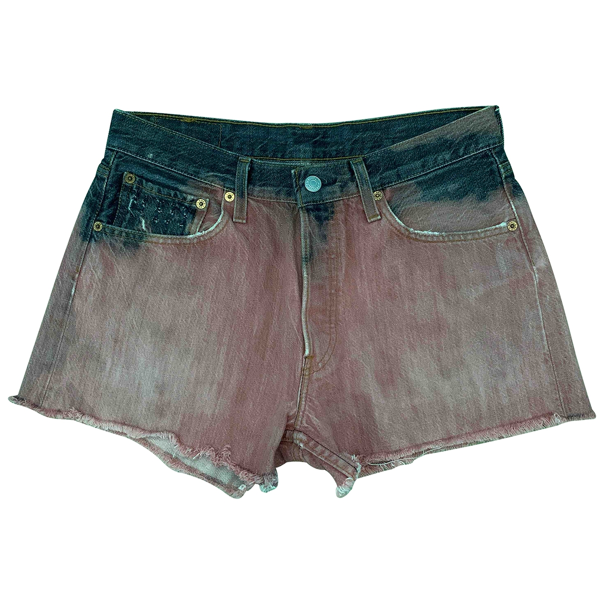 Levis \N Shorts in  Rosa Baumwolle