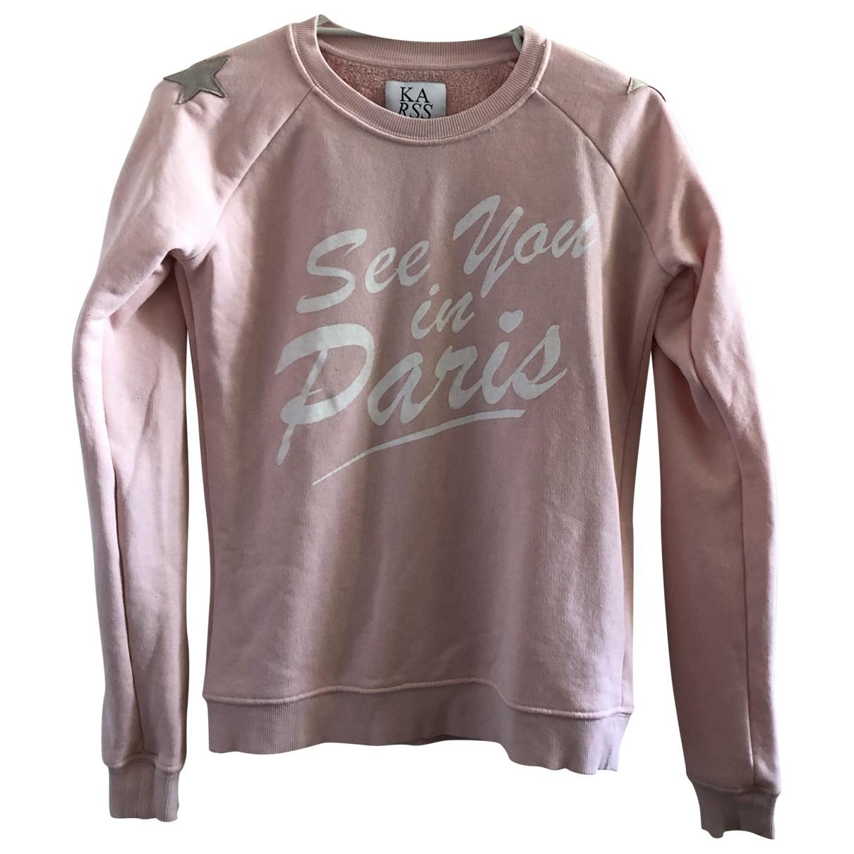Zoe Karssen - Pull   pour femme en coton - rose