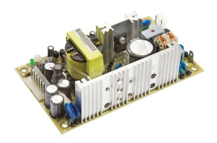 Mean Well , 64.8W Embedded Switch Mode Power Supply SMPS, 24V dc, Open Frame, Medical Approved