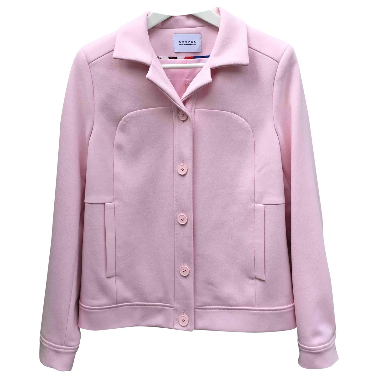 Non Signé / Unsigned \N Pink jacket for Women 36 FR