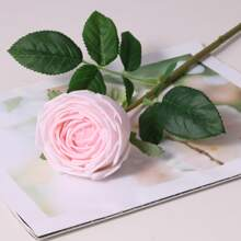 1 Zweig Kuenstliche Rose