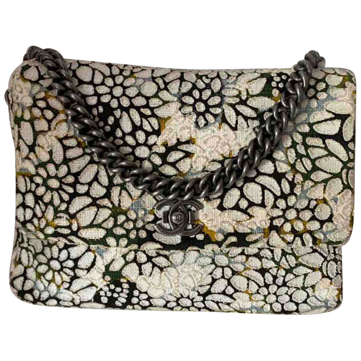 Chanel N Multicolour Cotton handbag for Women N