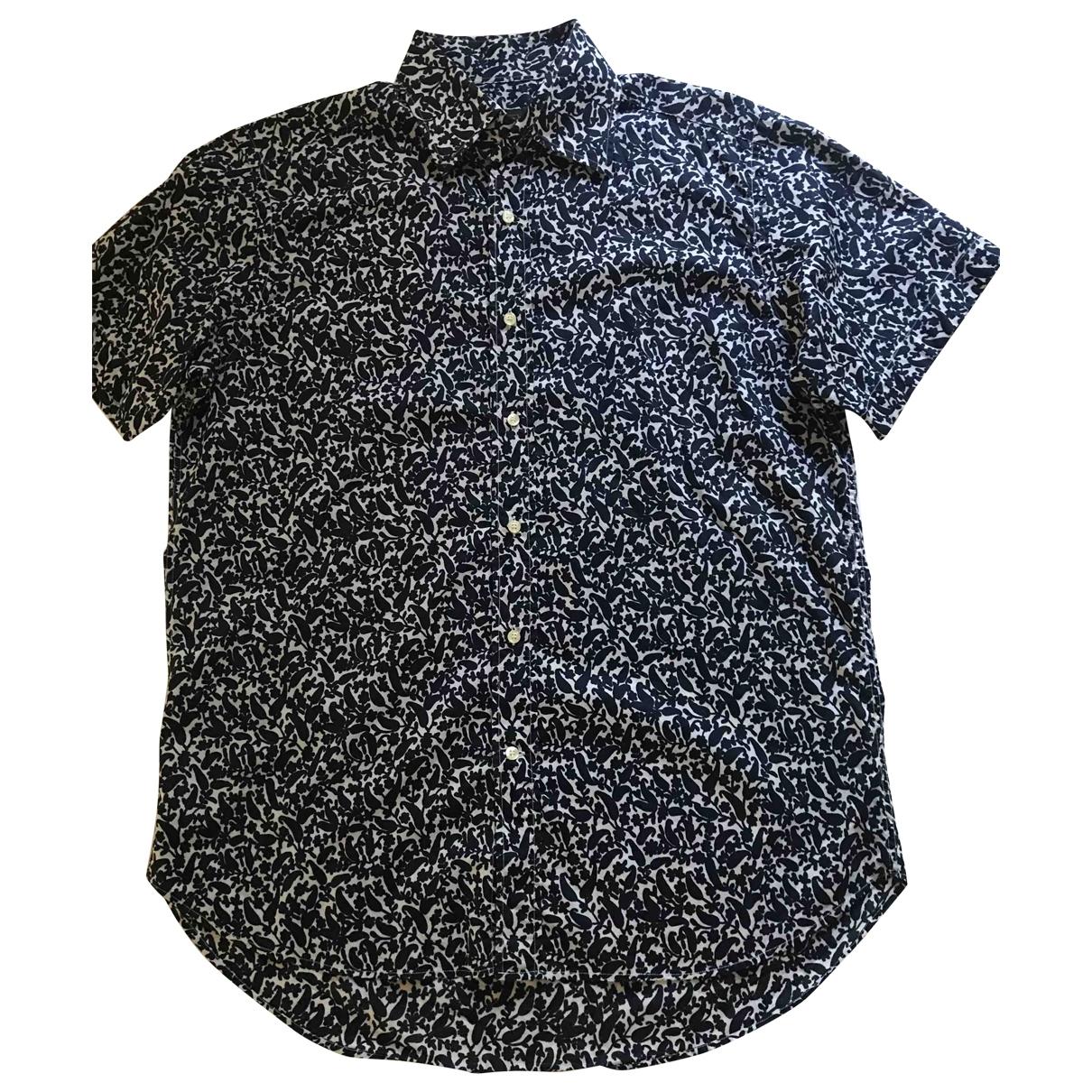 Etro \N Hemden in  Marine Baumwolle