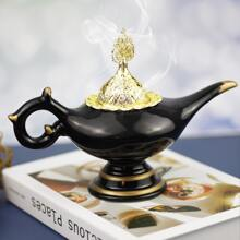 Teapot Shaped Alloy Incense Burner