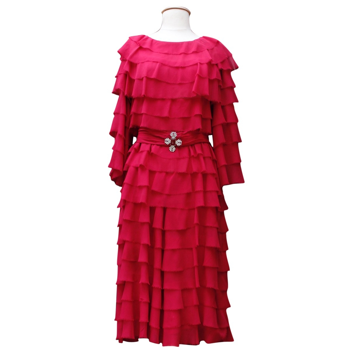 Givenchy \N Kleid in  Rosa Seide