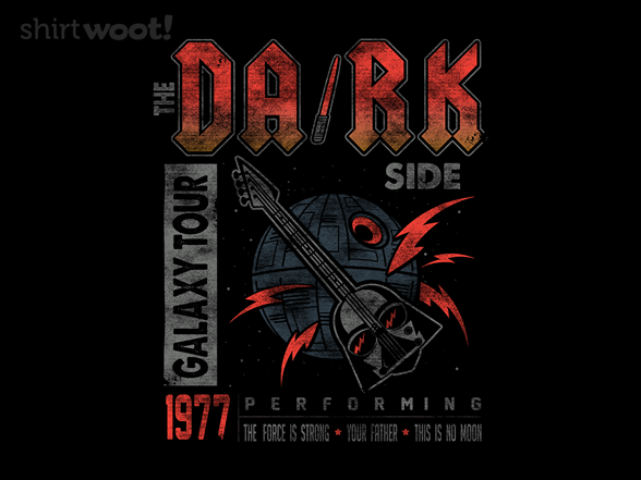 The Dark Side Tour T Shirt