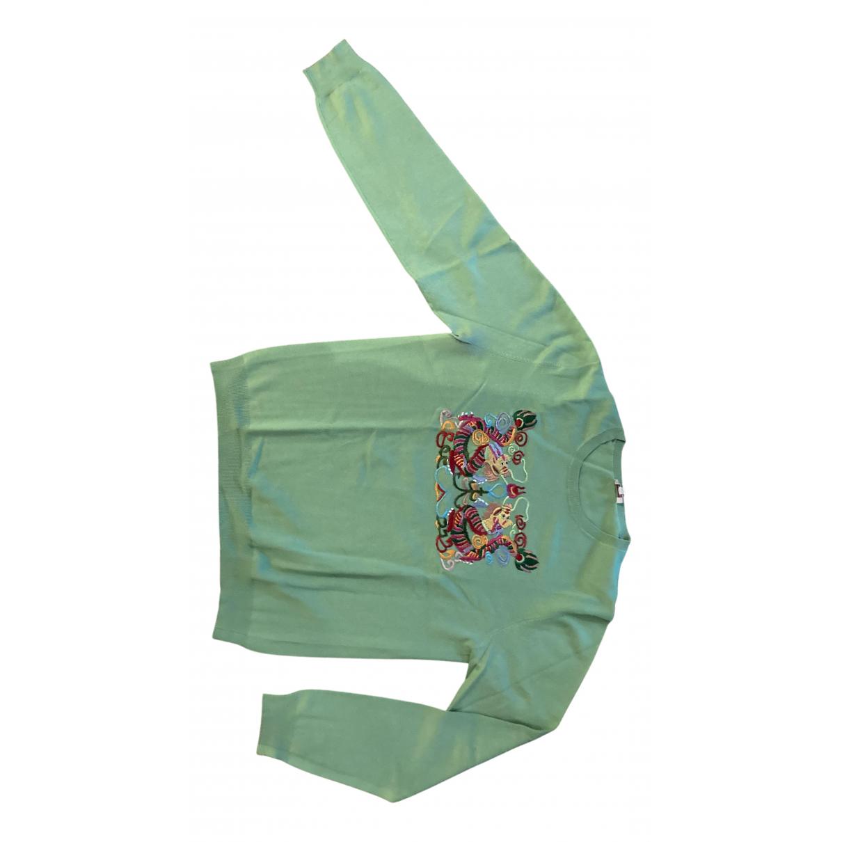 Parosh \N Pullover.Westen.Sweatshirts  in  Gruen Seide