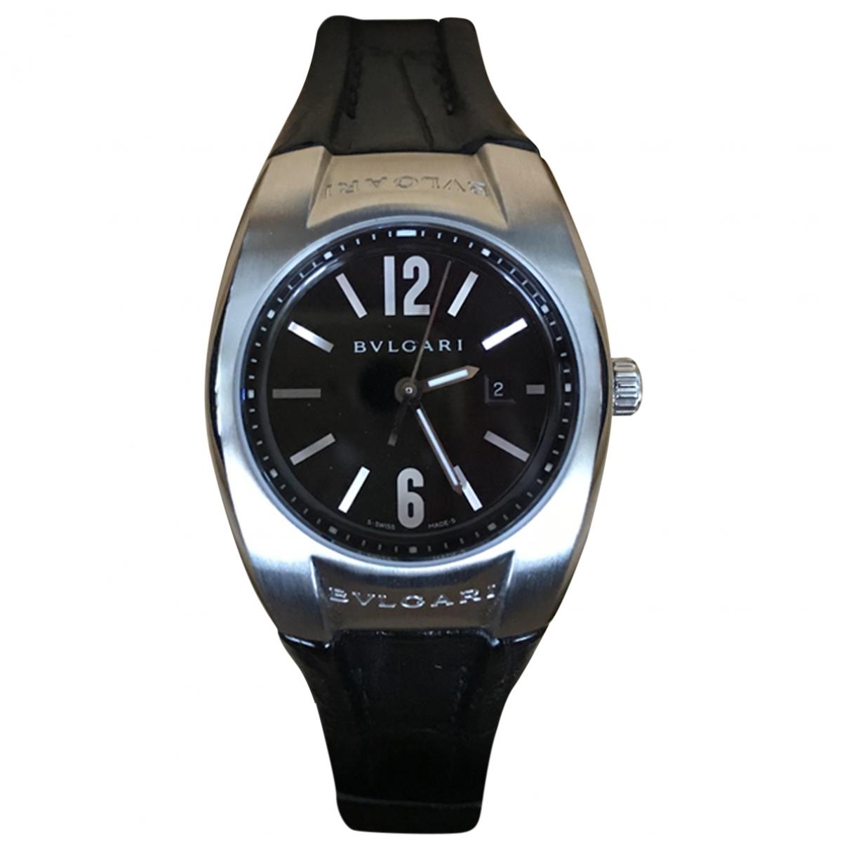 Bvlgari Ergon Uhr in  Silber Stahl