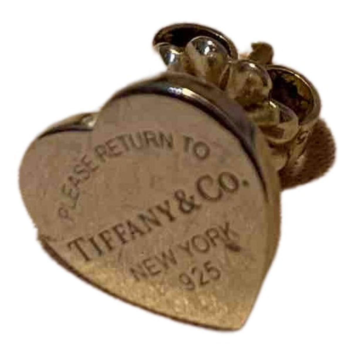 Tiffany & Co Return to Tiffany Silver Silver Earrings for Women \N