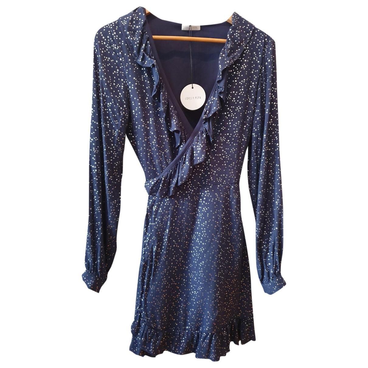 Lovely Pepa - Robe   pour femme - bleu