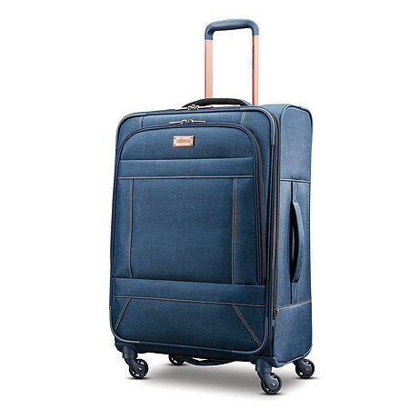 American Tourister Belle Voyage 25 Inch Luggage, One Size , Blue