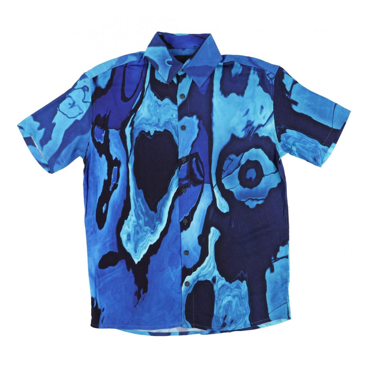 - Chemises   pour homme - bleu