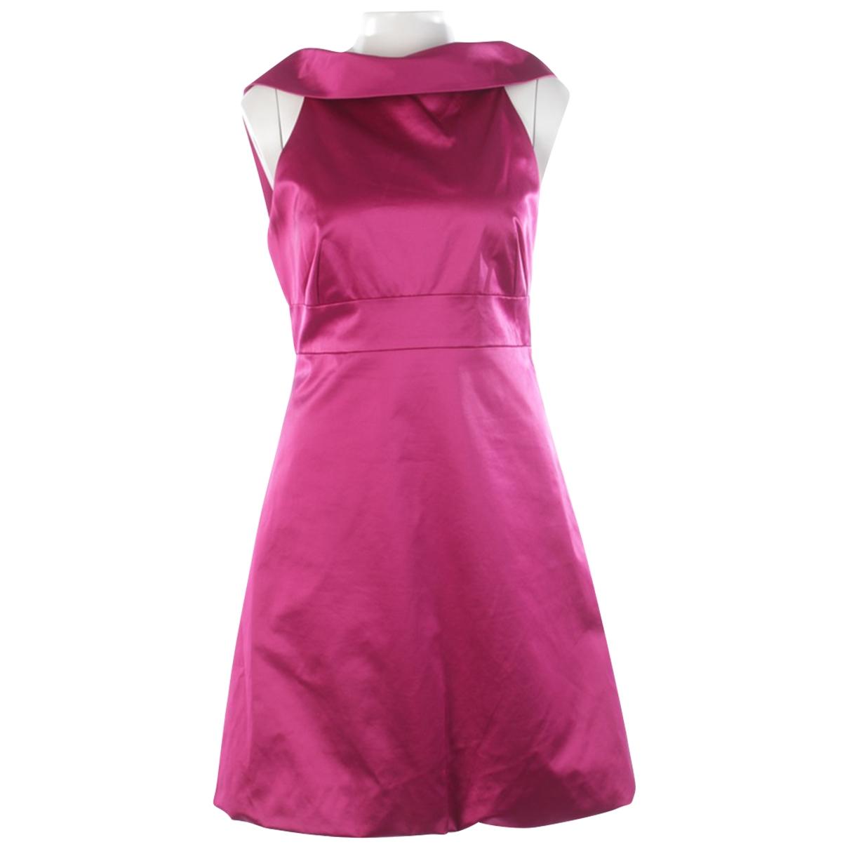 Karen Millen \N Kleid in  Lila Baumwolle