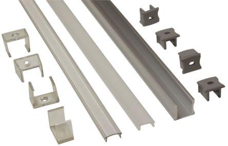 PowerLED LED Mount for Flexible LED Strips 1000 x 17mm
