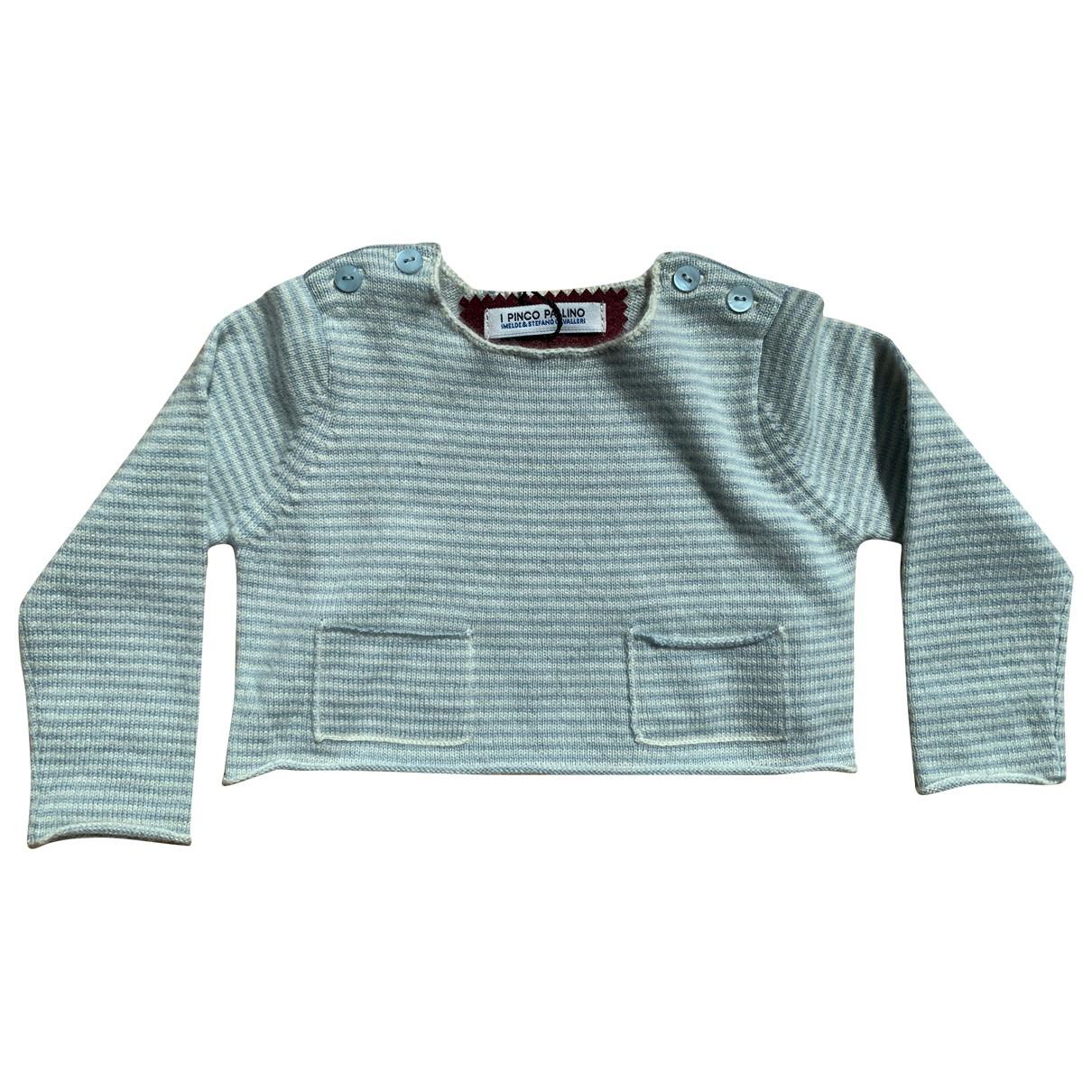 I Pinco Pallino - Pull   pour enfant en cachemire - bleu