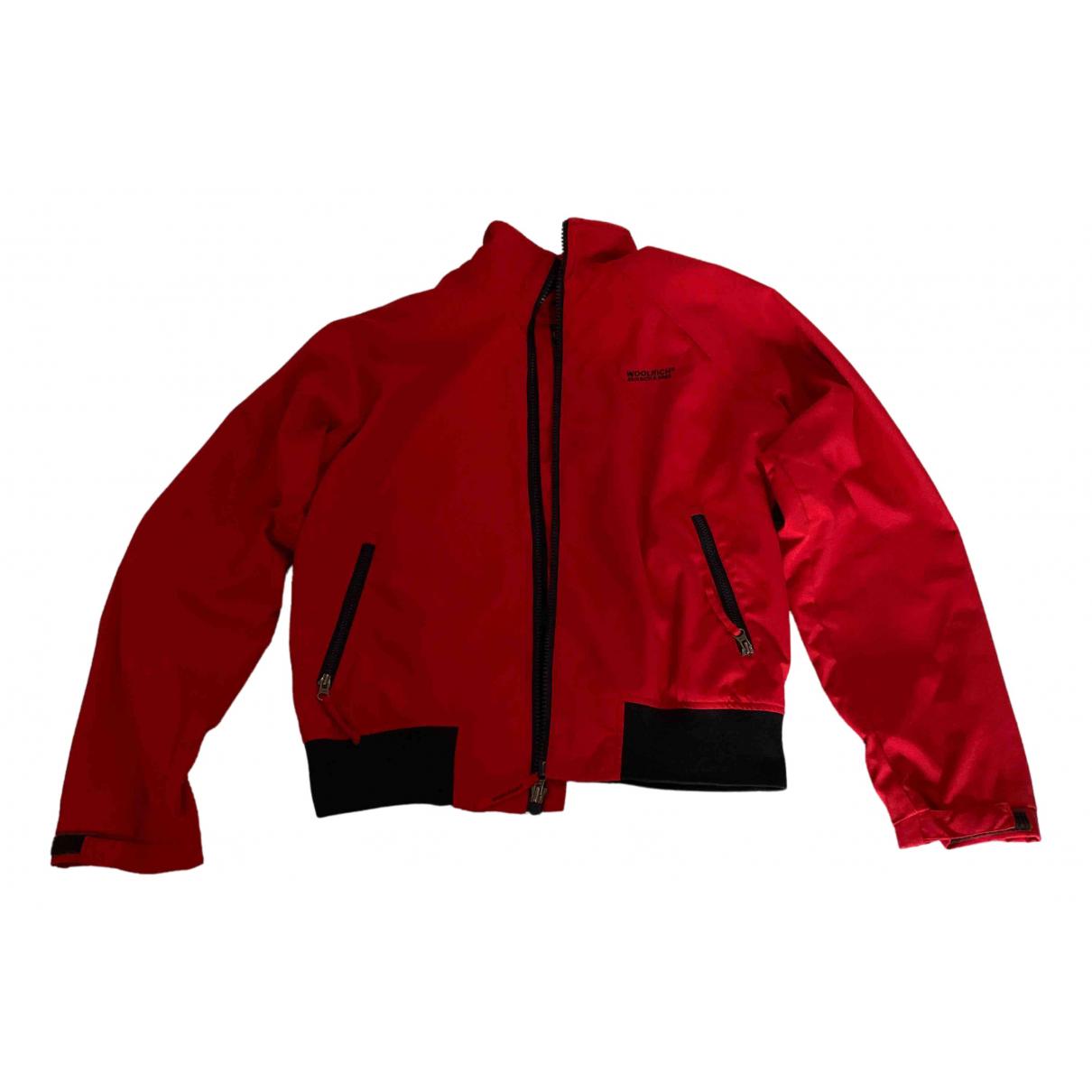 Woolrich - Vestes.Blousons   pour homme en autre - rouge