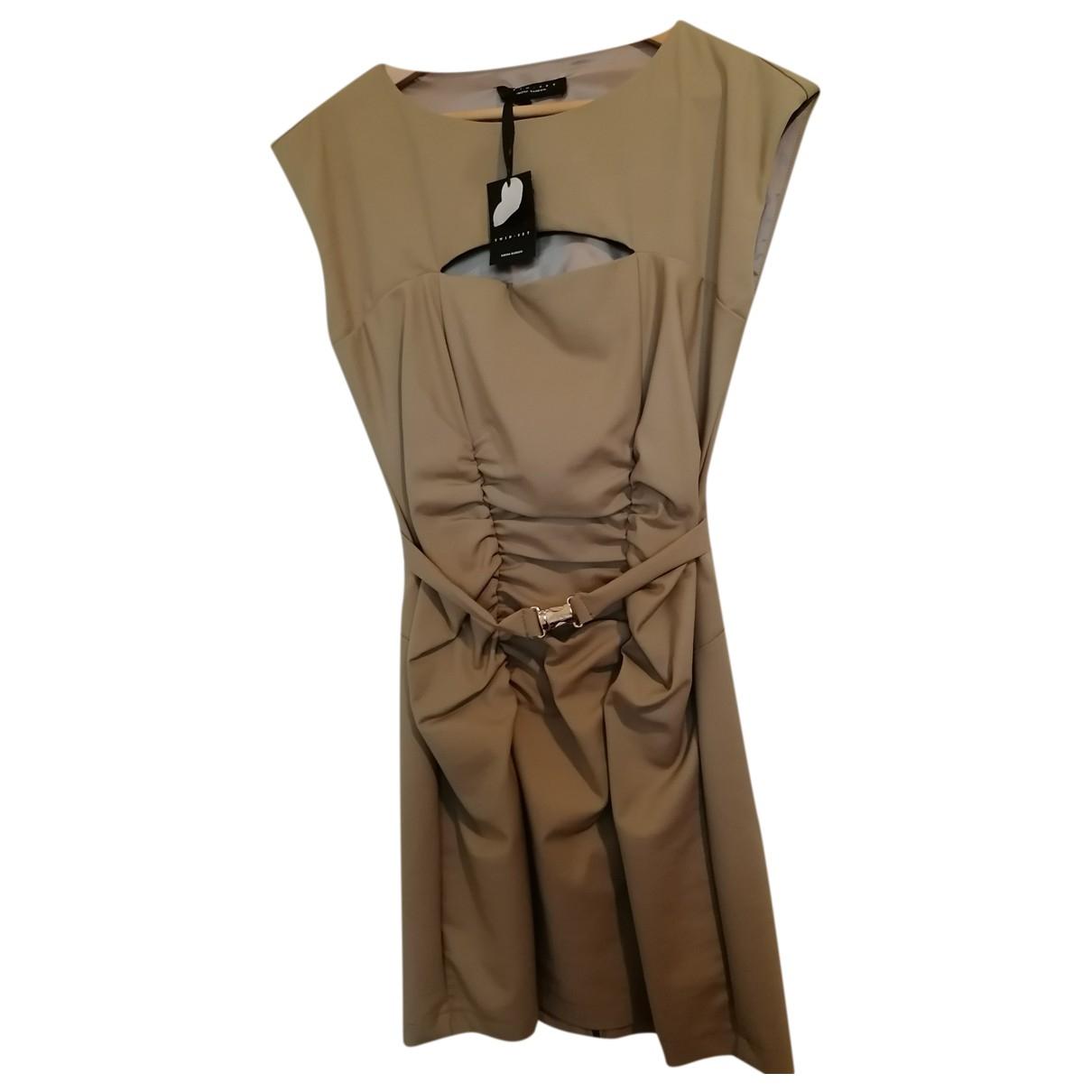 Twin Set \N Kleid in  Khaki Polyester