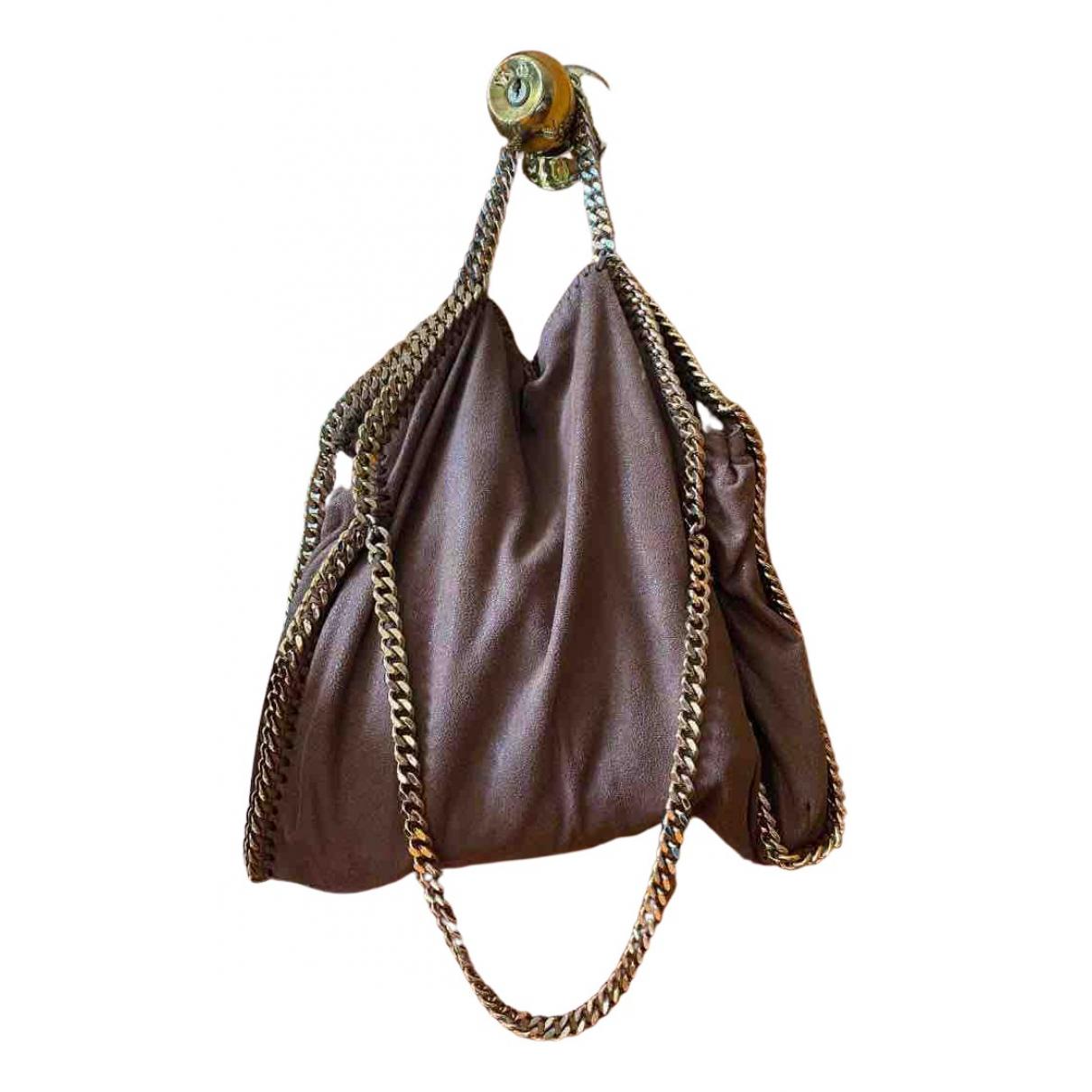 Stella Mccartney Falabella Handtasche in  Braun Polyester