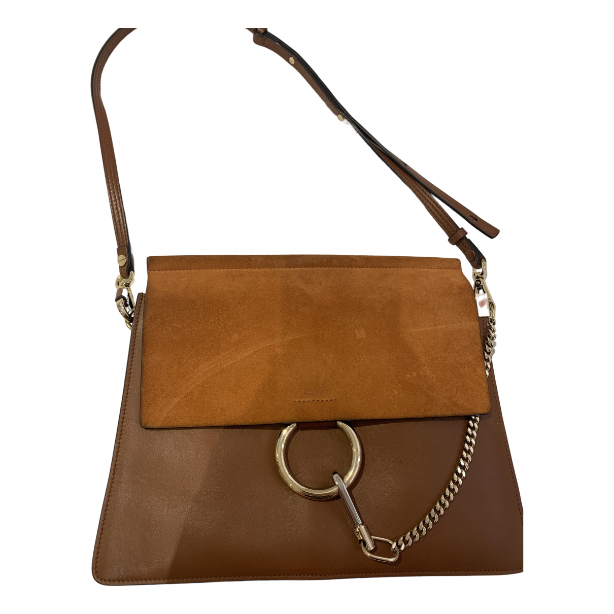 Chloé Faye Brown Suede handbag for Women \N